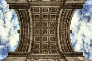 Arc de Triomphe - Detail 03 - Under the Arc by GiardQatar