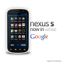 Samsung Nexus S in White by jakeroot