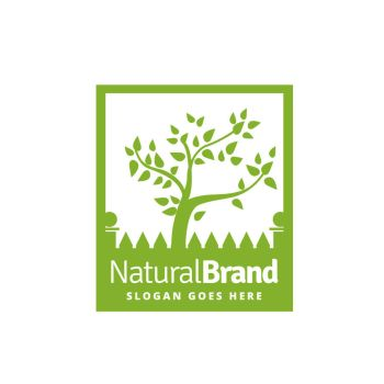 Natural Brand Logo by ozgurdk