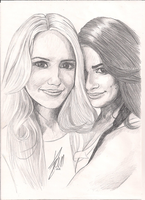 Dianna and Lea by ivy11