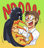 FanArt AVGN and Scorpion Vader by Grethe--B