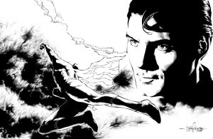 Tribute to Christopher Reeve by julioferreira