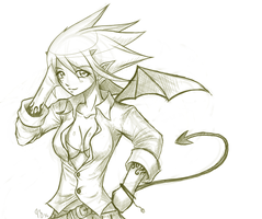 Sketch: Devil 2 by Claymore32