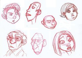 some faces by wandolina