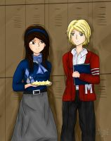 Faberry Week 2011 - 1950s by agent-ayu
