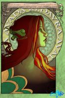 Emerald Avada by highway-woman