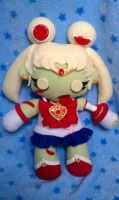 Kawaii Zombie Sailor Moon by TiffyyyCuppyCake