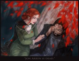 Catelyn and Ned by ThuyLTran