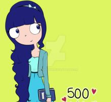 Thank you for the 500 watchers!!! by LanaFlynn