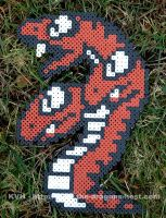 Perler Bead Triclyde by pinkdramon