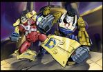Autobots: color by Sideburn004