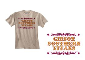 Carnival Lettering Shirt by amdillon