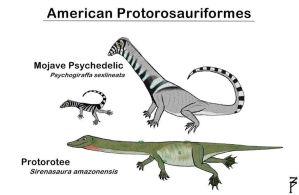 American Protorosauriformes by ZoPteryx