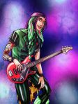 on the bass by RinAvenue