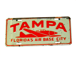 Tampa License Plate~ Stock by RMS-OLYMPIC