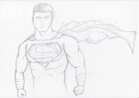 The Man of Steel - Superman by Razanul