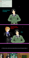 Question 47 and Dare 12: Drunken Hugs by AsktheMiniAxis