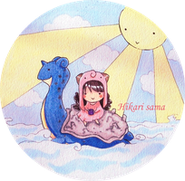 Me and my Lapras by HikariSama2007