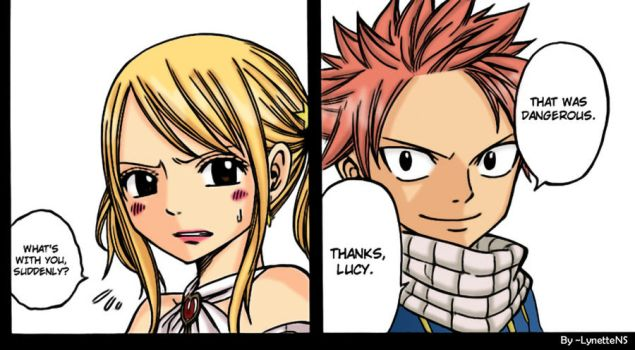 Natsu and Lucy FT 146 by LynetteNS