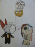ArtTrades: Love and Annoyance by ParadoxProphet