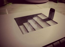 3D STAIR SIMPLE by SudiLin