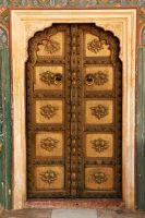 Door 1, Jaipur City Palace by wildplaces