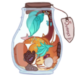 There is a Kami in a bottle! - Gift by Fucal