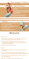 Burning Bridges Nuzlocke Rules by wanlingnic