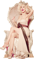 +Christina Aguilera Png by ForgetOurKisses