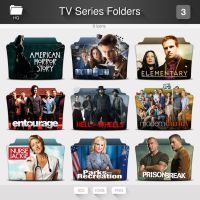 TV Series Folder Icons - PACK 03 by limav
