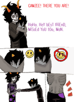 Sadstuck after everything redraw by Icestromflash