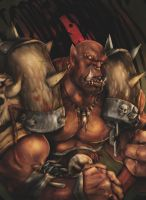 Warcraft - Garrosh Hellscream by MissPendleton