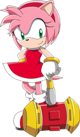 Amy Rose by SiIent-AngeI