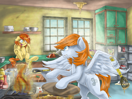 Mom of the year [Commission] by RedheadFly