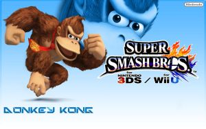 Donkey Kong - Super Smash Bros 2013 by Link-LeoB