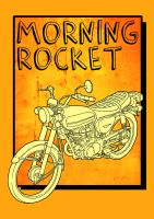 Morning Rocket CB100 by paldipaldi