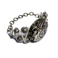 Steampunk Bracelet artifact by CatherinetteRings