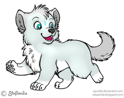 Aurora as Puppy by Anka77744