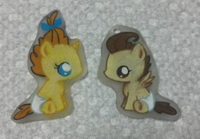 Baby Cakes Shrinky Dinks by Painted-Kitty