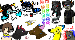 1M4G1N3 TH3 GRUBS SOLLUX by SweetieTheEspeon