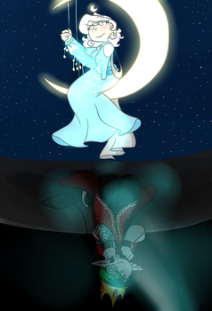 The Moon Princess and the Hidden Prince by SpaceyJessi