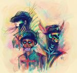 Steam Powered Giraffe by ClumsyKee