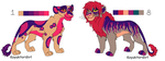 Lion Pallet Adoptables For HaloSon by KoyukitoriGirl