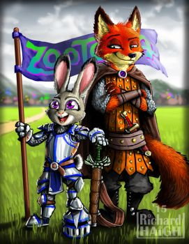 Medieval Zootopia by Pen-Mark