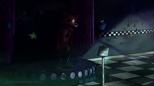 FNaF Foxy the pirate fox by SpaceDog500