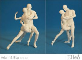 Adam Eve dance 06 by leo3dmodels