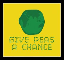 Give peas a chance by dugebag