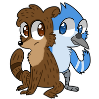 Mordo and Rig by raddily