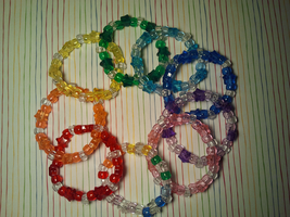 Clear Stars kandi by anne-t-cats