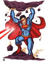The Anger of Kal El by CrimsonArtz